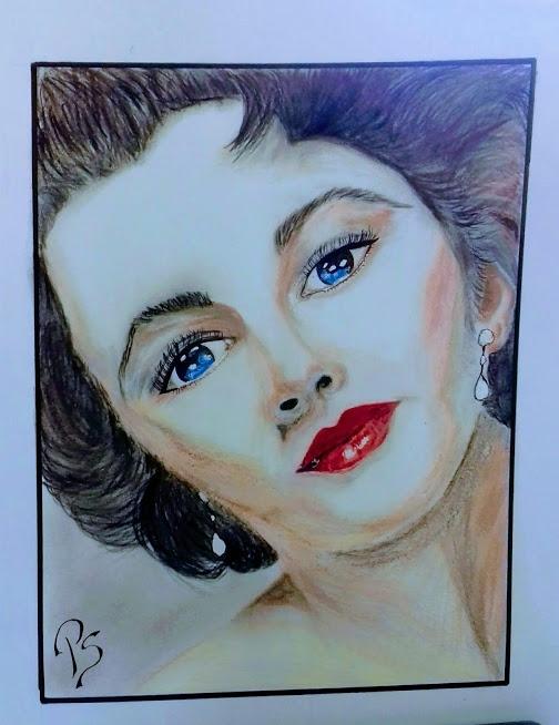 Elizabeth Taylor par PenStilos